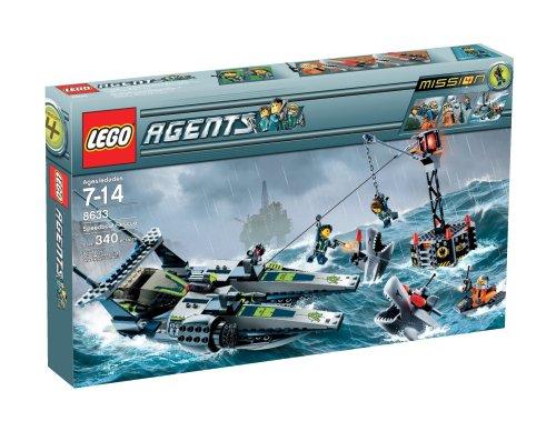 LEGO 8633 Mission 4: Speedboat Rescue(レゴ エージェント スピードボート レスキュー)