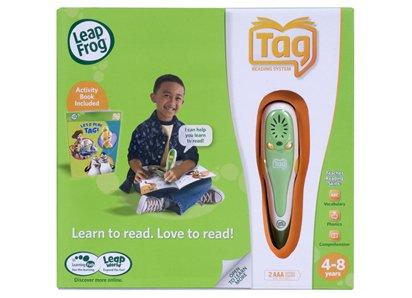 リープフロッグ リーディングシステム グリーン LEAP FROG Tag? Reading System (32MB)