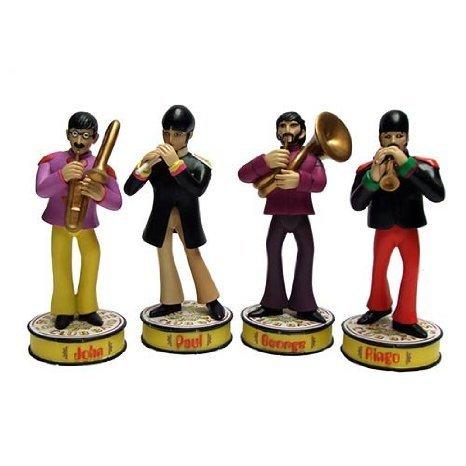 【数量限定】 Beatles Yellow Pepper Submarine Sgt. フィギュア Pepper Bobble Beatles Statue Set フィギュア おもちゃ 人形, Puravida プラヴィダ メンズ館:88854757 --- fabricadecultura.org.br