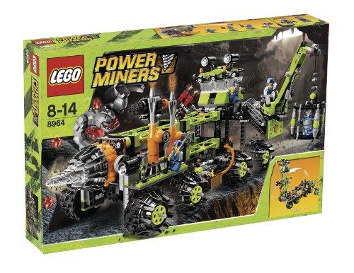 レゴ LEGO パワー・マイナーズ 変形移動基地 8964