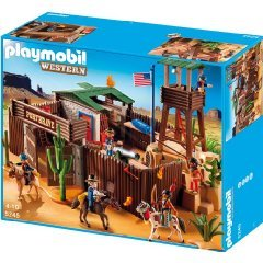 PLAYMOBIL プレイモービル 5245 - Groes Western-Fort