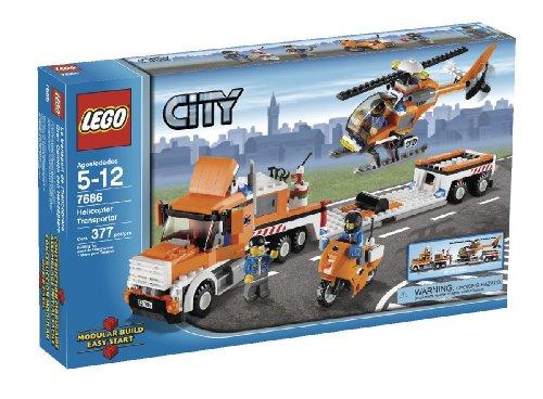 素晴らしい外見 LEGO シティ 7686 City City Helicopter LEGO Transporter(レゴ シティ ヘリコプター運搬車), ラランセ:7128f598 --- fabricadecultura.org.br