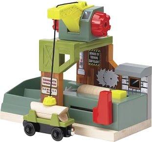 ラーニングカーブ きかんしゃトーマス 木製レールシリーズ 製材所 FC-42237