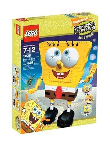 【国内未発売・希少モデル】 LEGO SpongeBob Build-A-Bob 3826 レゴ スポンジボブ