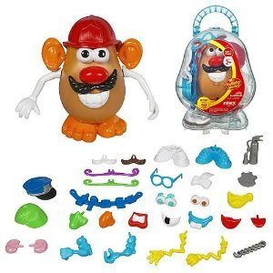 Playskool Mr. Potato ヘッド Silly Suitcase (35pcs.)
