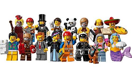 レゴ ミニフィギュア ムービーシリーズ LEGO THE LEGO MOVIE minifigures #71004 全16種フルコンプセット