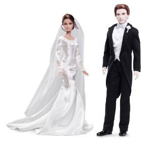 Barbie バービー Collector TWILIGHT: Breaking Dawn Part 1 - BELLA & EDWARD WEDDING DAY Doll ドールs