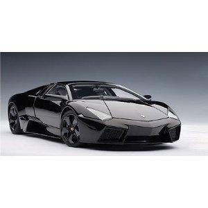 Lamborghini Reventon ブラック (Part: 74592) Autoart 1:18 Diecast モデル Car