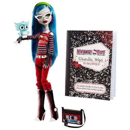 モンスターハイ Monster High Ghoulia Yelps Doll with Pet Owl Sir Hoots A Lot