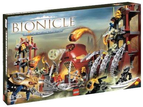 LEGO 8759 BIONICLE Battle of Metru Nui (レゴ バイオニクル メトゥル・ヌイの戦い)