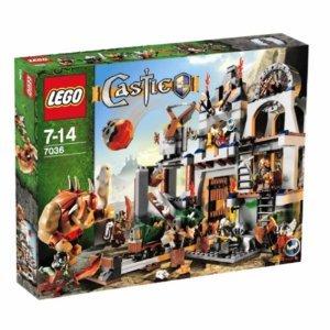 レゴ キャッスル ドワーフ戦士のぶき工場 7036