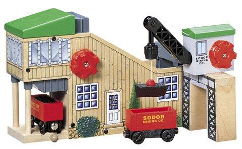 ラーニングカーブ きかんしゃトーマス 木製レールシリーズ 石炭ステーション FC-30044