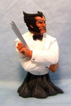 素晴らしい Marvel (マーブル) Wolverine Universe: Online Exclusive 'Suited' Wolverine Marvel (ウルヴァリン) 'Patch' (マーブル) Bust Limite, 新潟県:12fd095c --- blablagames.net