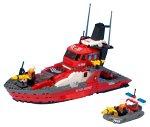 レゴ ワールドシティ 消防指令船 7046