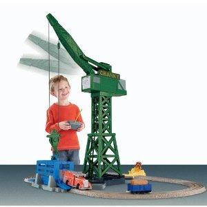 トーマス the Train: TrackMaster Cranky and Flynn Save the Day Playset