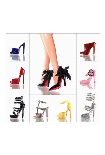 クリスチャンルブタン バービーシューコレクション Christian Louboutin Barbie Shoe Collection T2159