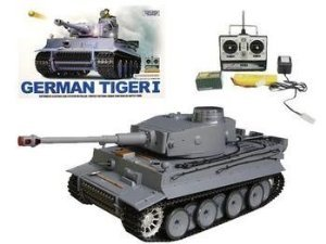 1:16 RC German Tiger I Tank Remote Control w/ Sound and Smoke おもちゃ