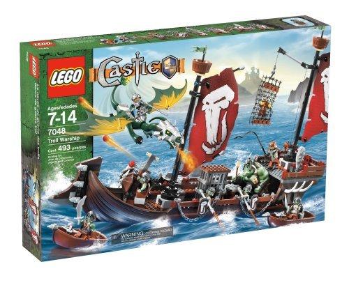 レゴ キャッスル トロール戦艦 7048 LEGO