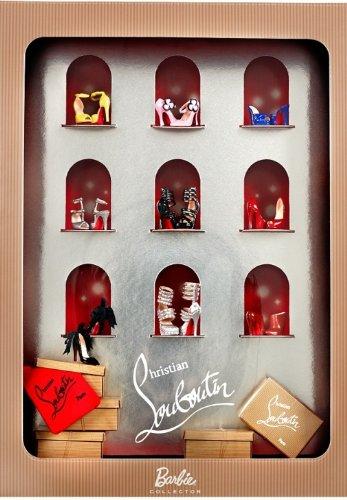 クリスチャンルブタン バービー シューコレクション Christian Louboutin Barbie Shoe Collection