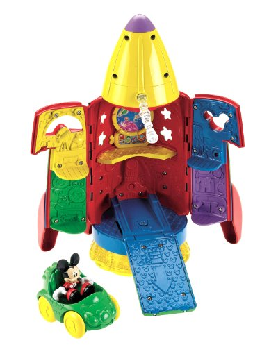 Fisher-Price(フィッシャープライス) Disney's Mickey Mouse Space Rocket