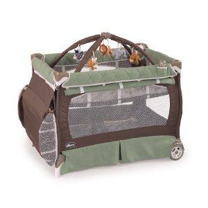折りたたみ持ち運び可能な、おもちゃつきプレイヤードChicco Lullaby LXプレイヤード