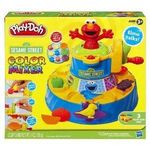 Play-doh セサミストリート カラー Mixer