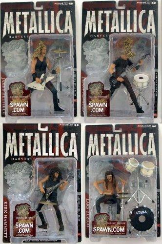 マクファーレントイズ メタリカ フィギュア 4体セット/HARVESTERS OF SORROW/METALLICA