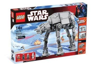 電動モーターで動く!LEGO スターウォーズ電動ウォーキングAT-AT