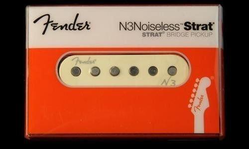 Fender N3 Noiseless Stratocaster Pickup for Bridge Position フェンダー ピックアップ ブリッジ リア