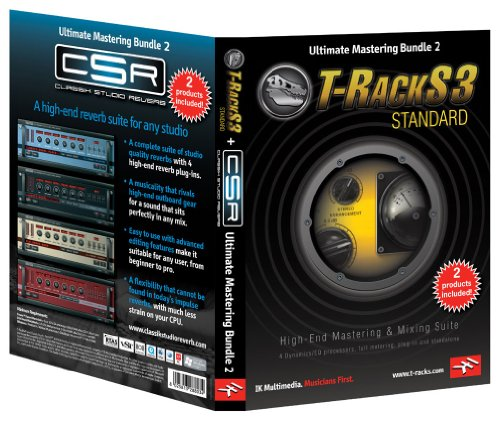 IK multimedia T-RACK3 STANDARD と CSR セット Ultimate Mastering Bundle 2