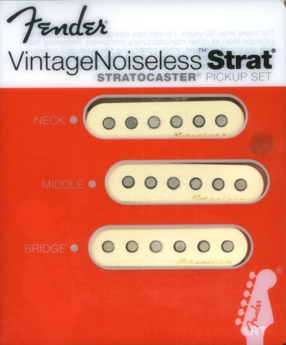 Fender Vintage Noiseless Single Coil pickup set