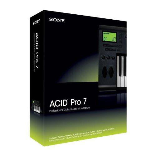Sony ACID Pro 7 ソニー アシッドプロ ダウンロード版