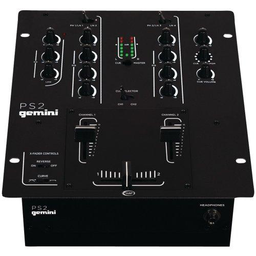 Gemini PS2 Professional DJ mixer