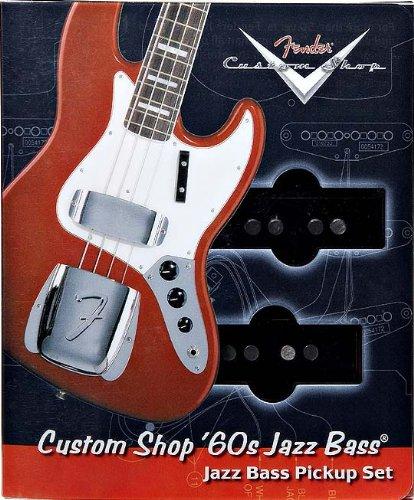Fender Custom Shop 送料無料 '60s set Pickup Bass Jazz ついに入荷