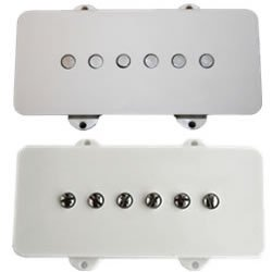 Lindy Fralin Jazzmaster Set White