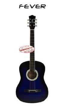 Fever (フィーバー) 3/4 Size アコースティックギター 38 Inches Blueburst FV-030-BL アコースティック