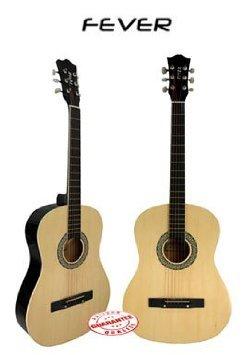 Fever (フィーバー) 3/4 Size アコースティックギター 38 Inches Natural FV-030-NT アコースティックギ