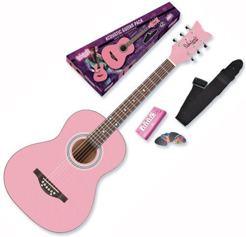 Daisy Rock デイジーロック Debutante Junior Miss Acoustic Bubble Gum Pink Guitar Starter Pack アコ