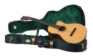 Recording King レコーディングキング CG-044K-O Vintage Hardshell Case, 0-Style Acoustic