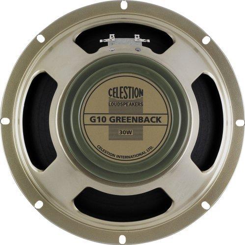 Celestion (セレッション) G10 Greenback ギタースピーカー, 8 オーム