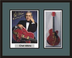 CHET ATKINS Guitar Shadowbox Frame エレキギター エレクトリックギター ギター