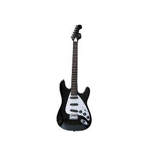 First Act Double Cutaway Electric Guitar - Black and White エレキギター エレクトリックギター