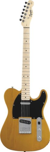 Squier by Fender スクワイア エレキギター Affinity Telecaster with Gear Guardian Buttersccotch Blon