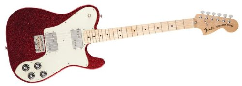 Fender フェンダー FSR 1972 Telecaster Deluxe Electric Guitar Apple Red Flake エレキギター テレキ