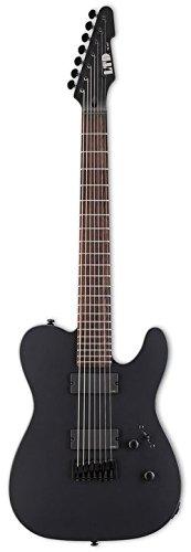 ESP LTD TE-407 Black エレキギター EMG 搭載 テレキャスター タイプ 7弦 TE407