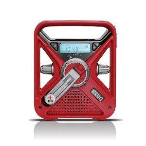 American Red Cross FRX3 Hand Turbine NOAA AM/FM Weather Alert Radio ラジオ with Smartphone Charge