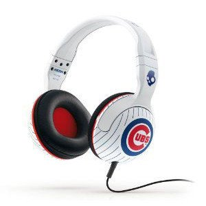 Skullcandy MLB Hesh 2.0 Chicago Cubs with Mic Sports Collection Wired Headphone - White ヘッドホン