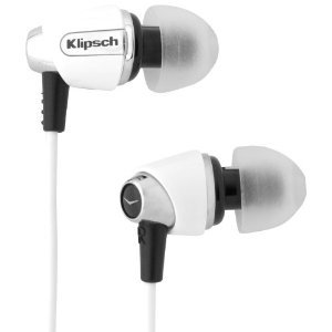 Klipsch クリプシュ IMAGE S4-WH In-Ear Enhanced Bass Noise-Isolating Headphone ヘッドフォン, White