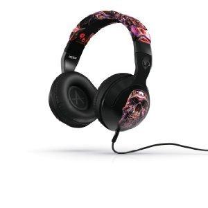 Skullcandy Hesh 2 Headphones w/Mic Galactica Luca Skull (2012 Color), One Size ヘッドホン(イヤホ