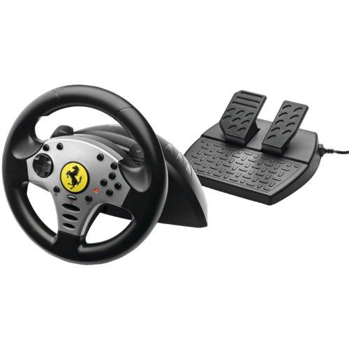 Thrustmaster Ferrari Challenge Wheel for PS3 and PC - フェラーリ チャレンジ ホイール PS3 & PC (PS3